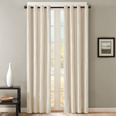 Skyline grommet window curtain panels bedbathandbeyond for Grommet curtains