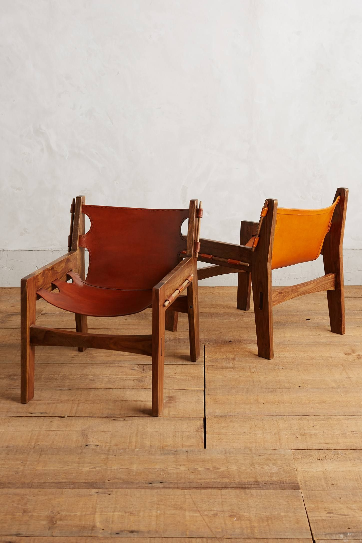 leather sling chairs chair that turns into bed anthropologie com for the home pinterest