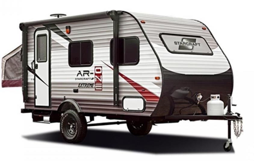 The Starcraft Travel Trailer Ar One Is A 7 Foot Wide Camper Made