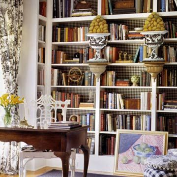 The Decorated Bookcase