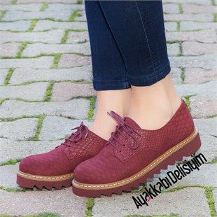 Aston Fosforlu Pembe Yürüyüş Ayakkabısı Bayan