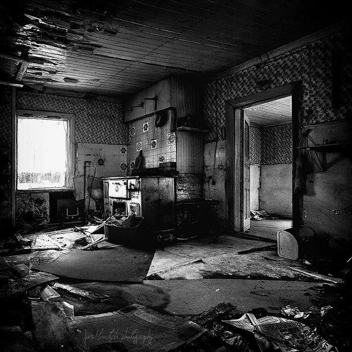 Abandoned House. Nivala, Finland Yesterday They Were Here