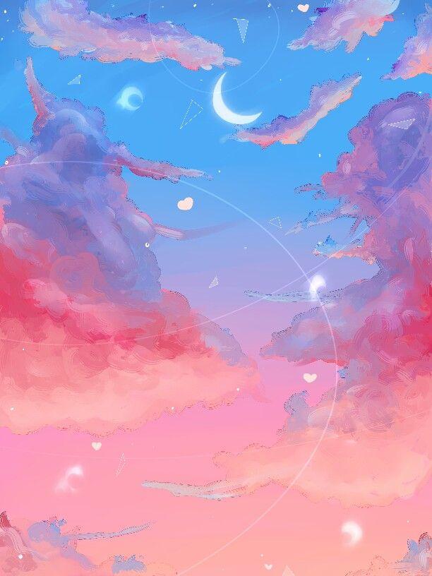 Watercolour Clouds Watercolor Clouds Galaxy Wallpaper Scenery Wallpaper