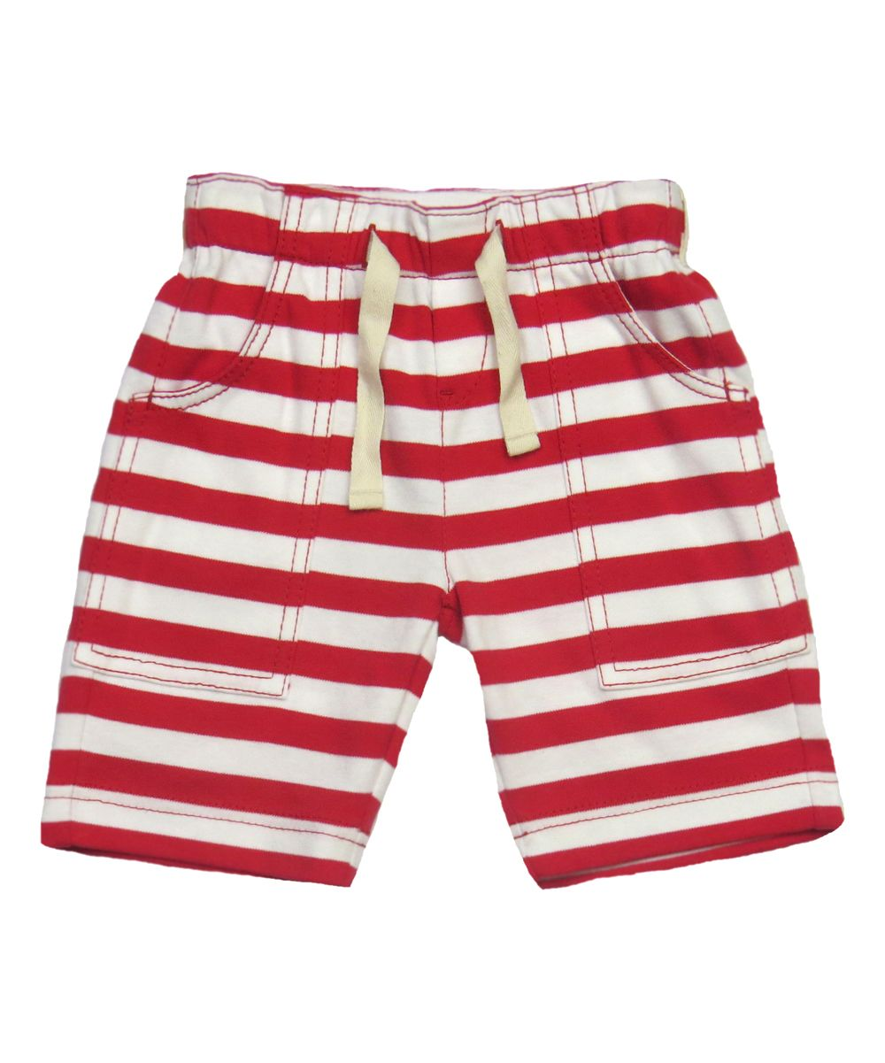 04c572203da2a Red & White Stripe Cargo Shorts - Infant Toddler & Boys | Products ...