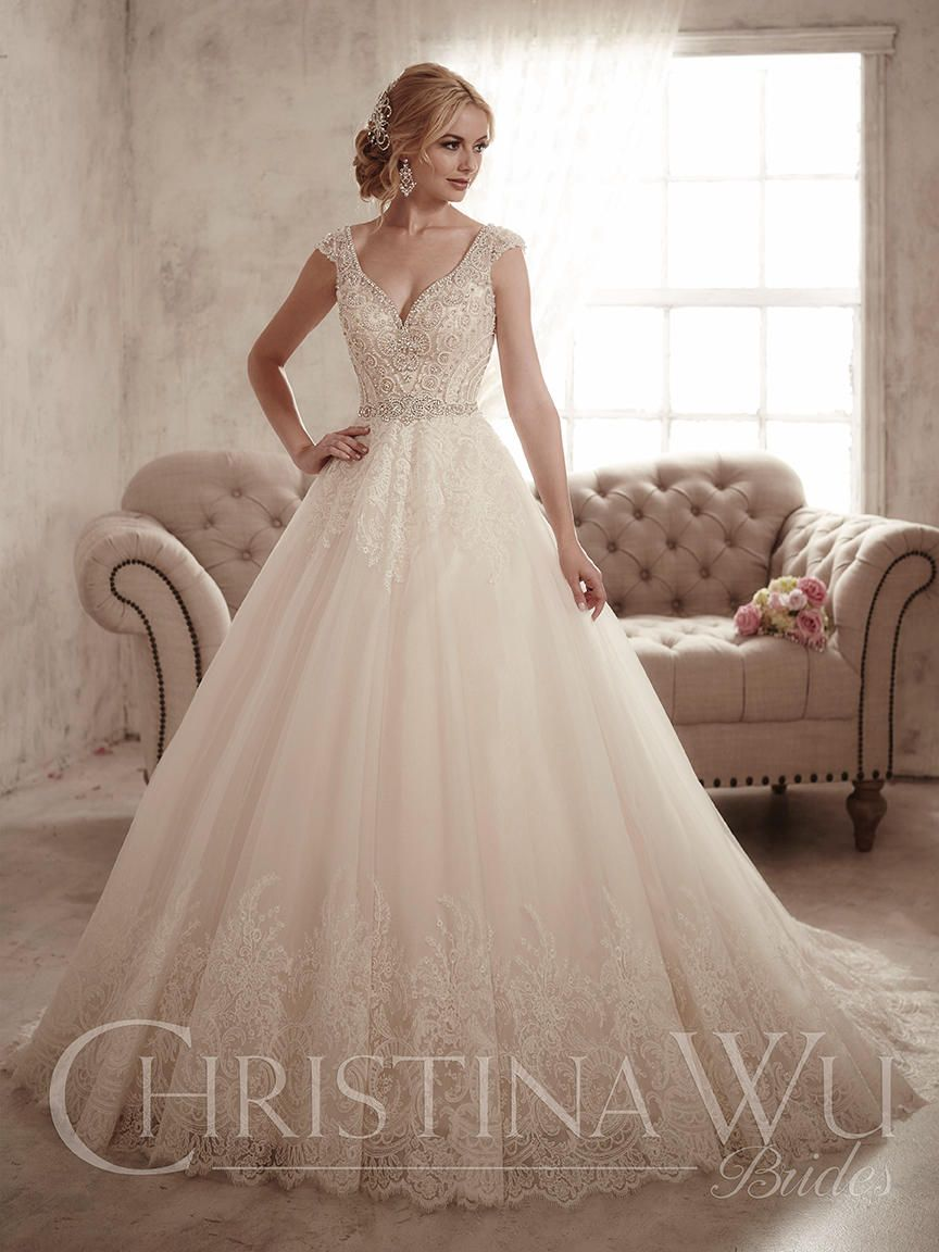 Christina Wu Bride Collection 15597 in 2020 Wedding