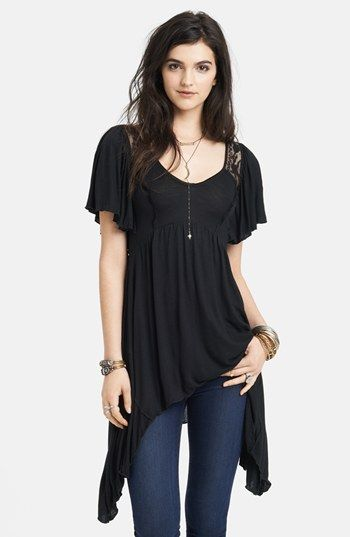 ae374148bee1 Free People 'Beautiful Stranger' Lace Inset Tunic available at #Nordstrom