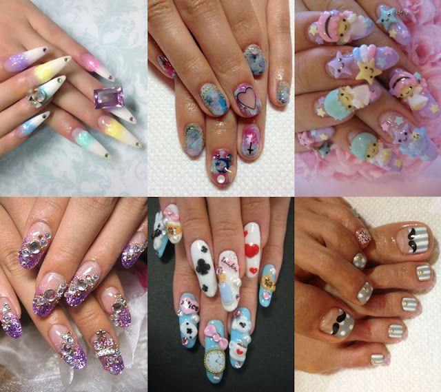 Japanese Nail Art   selection of japanese nail art   FABULOUS NAIL ...
