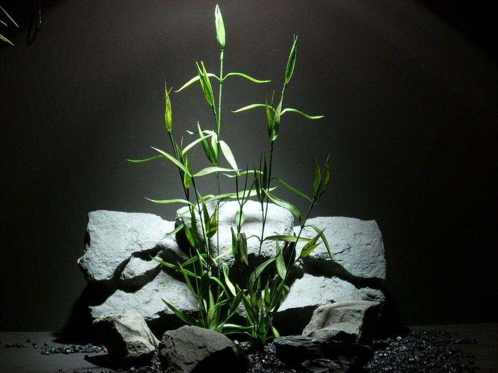 plastic aquarium plant | bamboo plot #parp089 ronbeckdesigns.com ebay | etsy
