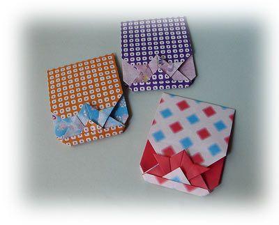 クリスマス 折り紙 ポチ袋 折り紙 : jp.pinterest.com