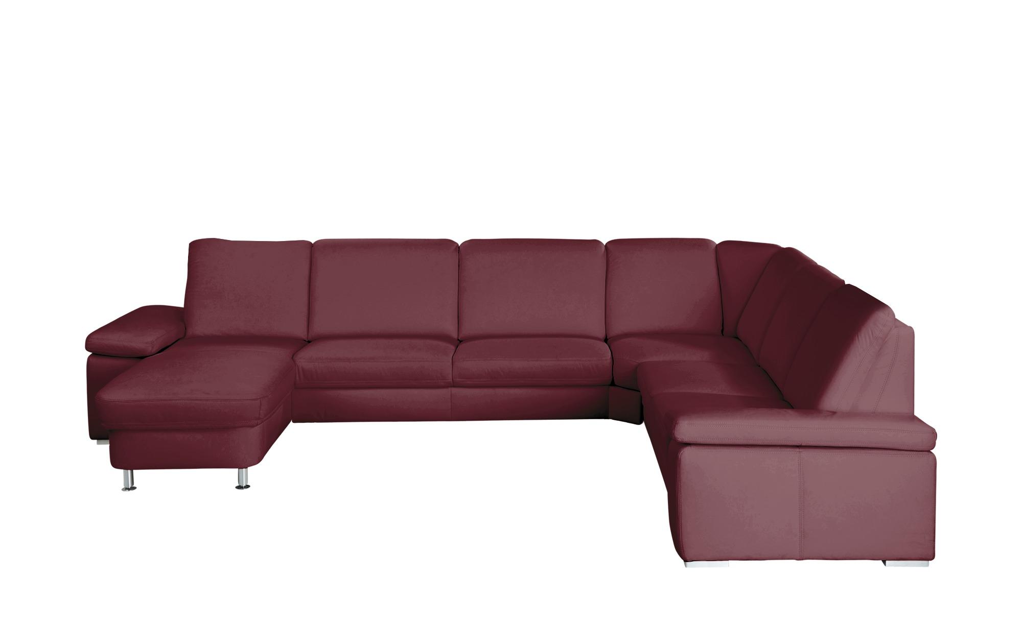 Wohnlandschaft Bordeaux Leder Elsa Wohnlandschaft Couch Gunstig Und Couch Mobel