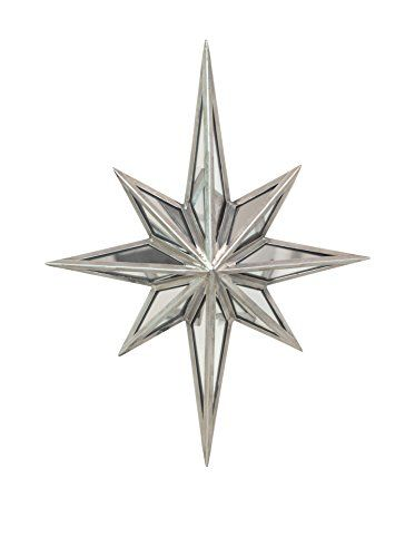 Awesome Three Hands Metal Star Wall Decoration