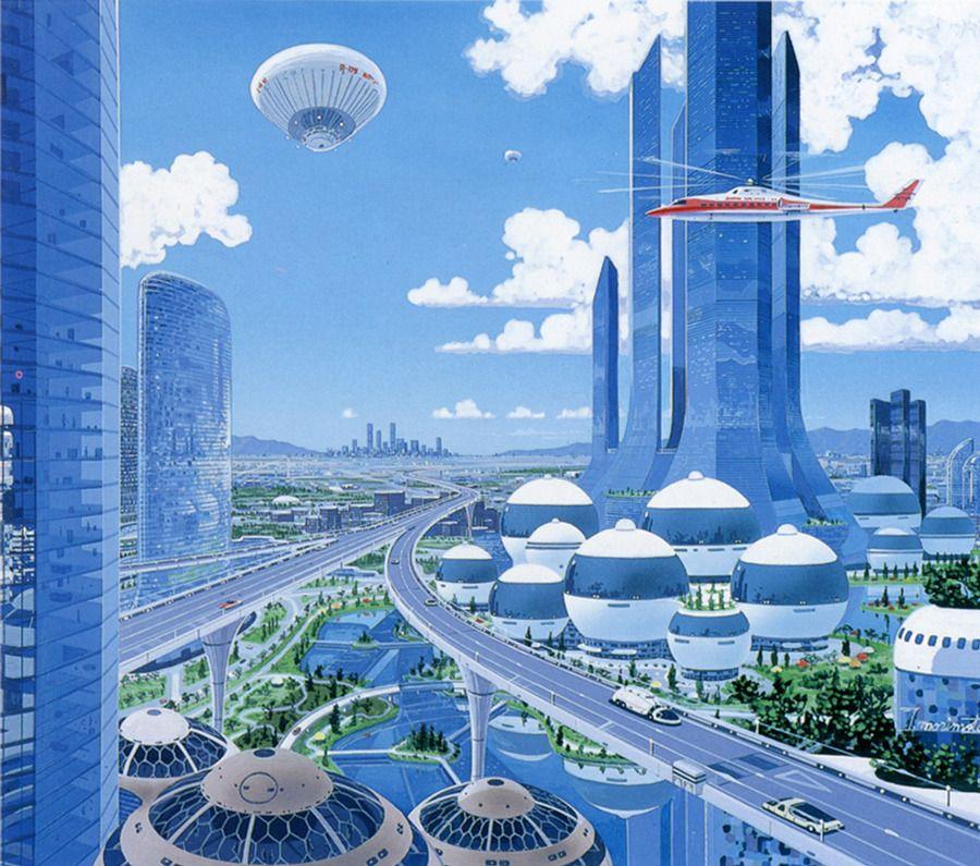 Pin By Yon Bonyovi On Foundation And Empire Futuristic City 70s Sci Fi Art Futuristic Art