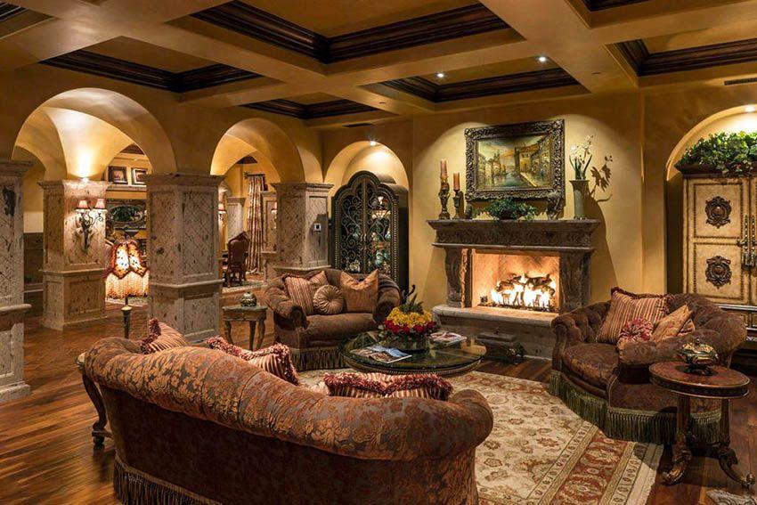 27 Beautiful Earth Tone Living Room Designs Mediterranean Decor Mediterranean Living Rooms Earth Tone Living Room