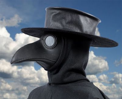 Tom Banwell—Leather and Resin Projects: Making a Plague Doctor's Hat