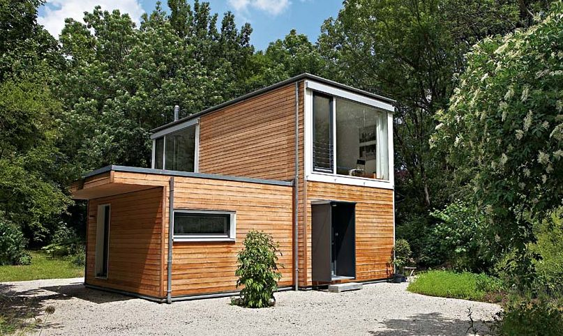 option minihaus von bauart tiny houses haus container. Black Bedroom Furniture Sets. Home Design Ideas