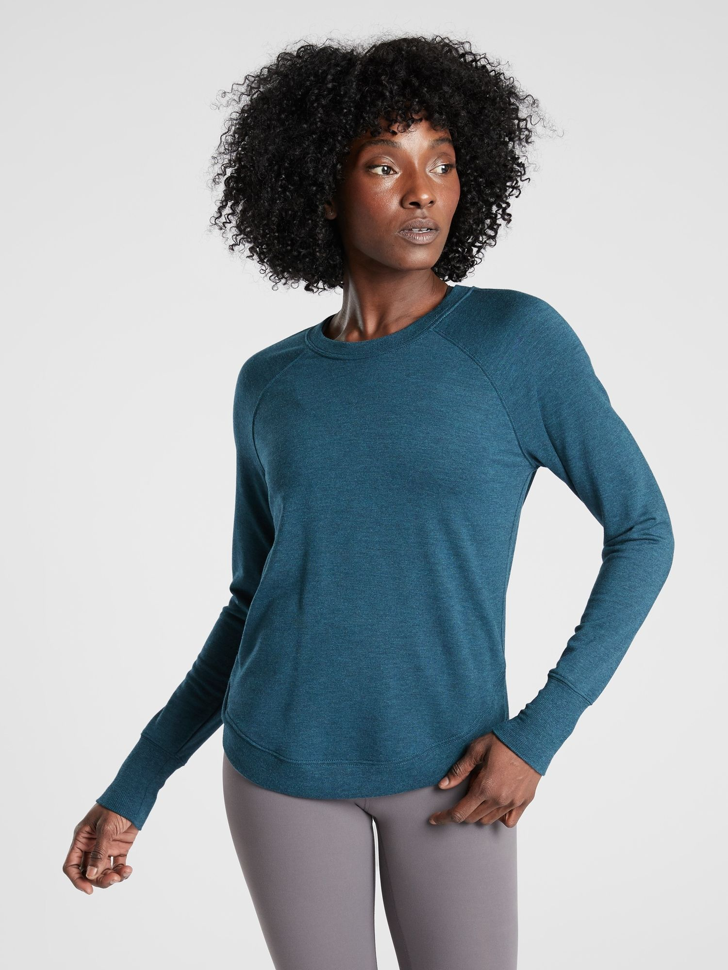 Mindset Sweatshirt Athleta Workout Tops For Women Clothes For Women Athletic Tops Women [ 2000 x 1500 Pixel ]