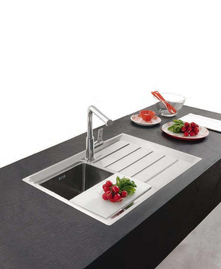 Franke Neptune Plus -NPX 611 | Cocinas | Pinterest | Sinks, Kitchens ...