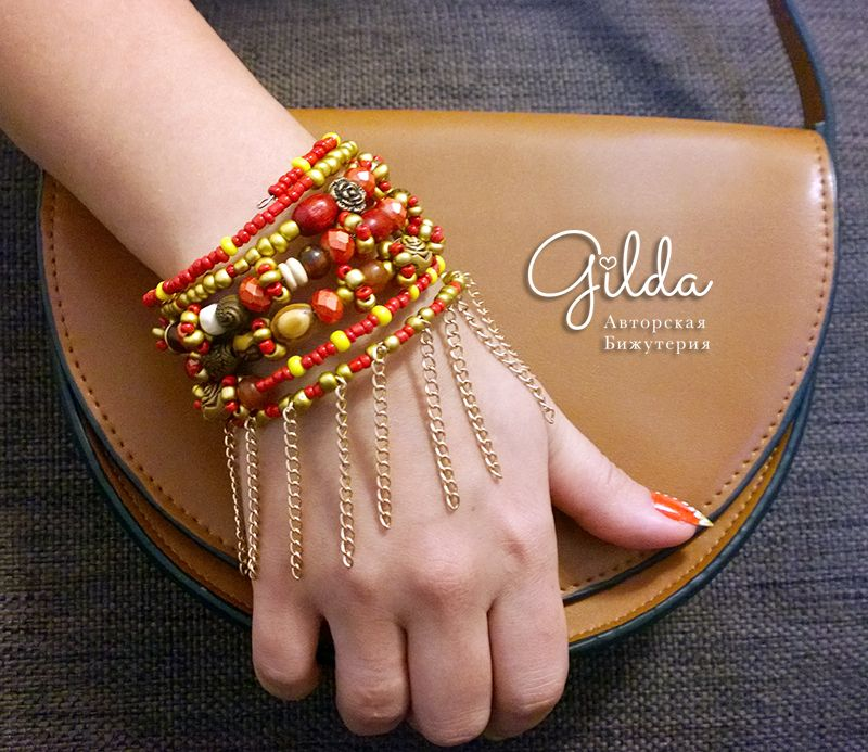 DIY Tutorial: How to make ethnic memory wire bracelet made from ...