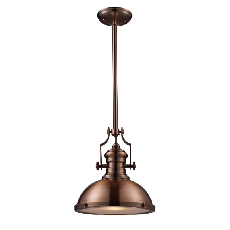 Elk lighting 66144 1 led chadwick single light 13 wide led pendant elk lighting 66144 1 led chadwick single light 13 wide led pendant with aloadofball Image collections