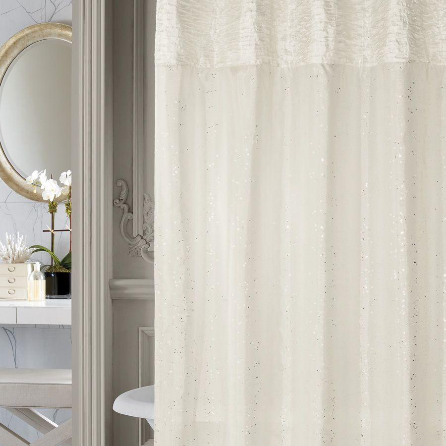 Nicole Miller Sparkle Shower Curtain Want So Bad