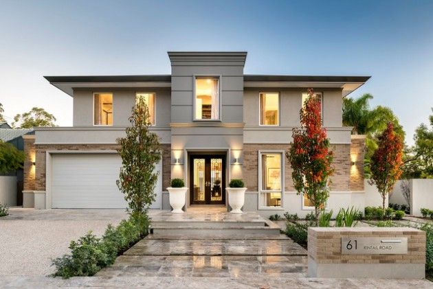 16 Eye Catching Transitional Home Designs That Will Make Your Jaw Drop Part 1 House Designs Exterior Transitional House House Exterior