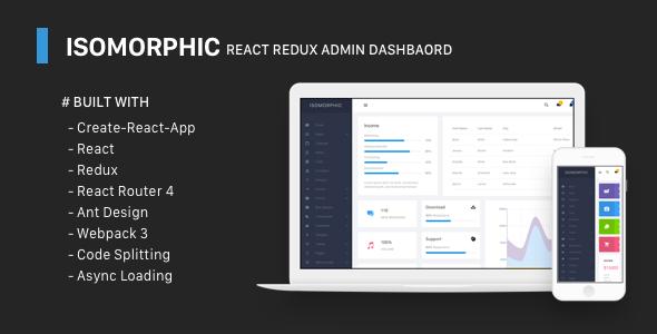 awesome Isomorphic - React Redux Admin Dashboard (Admin Templates ...