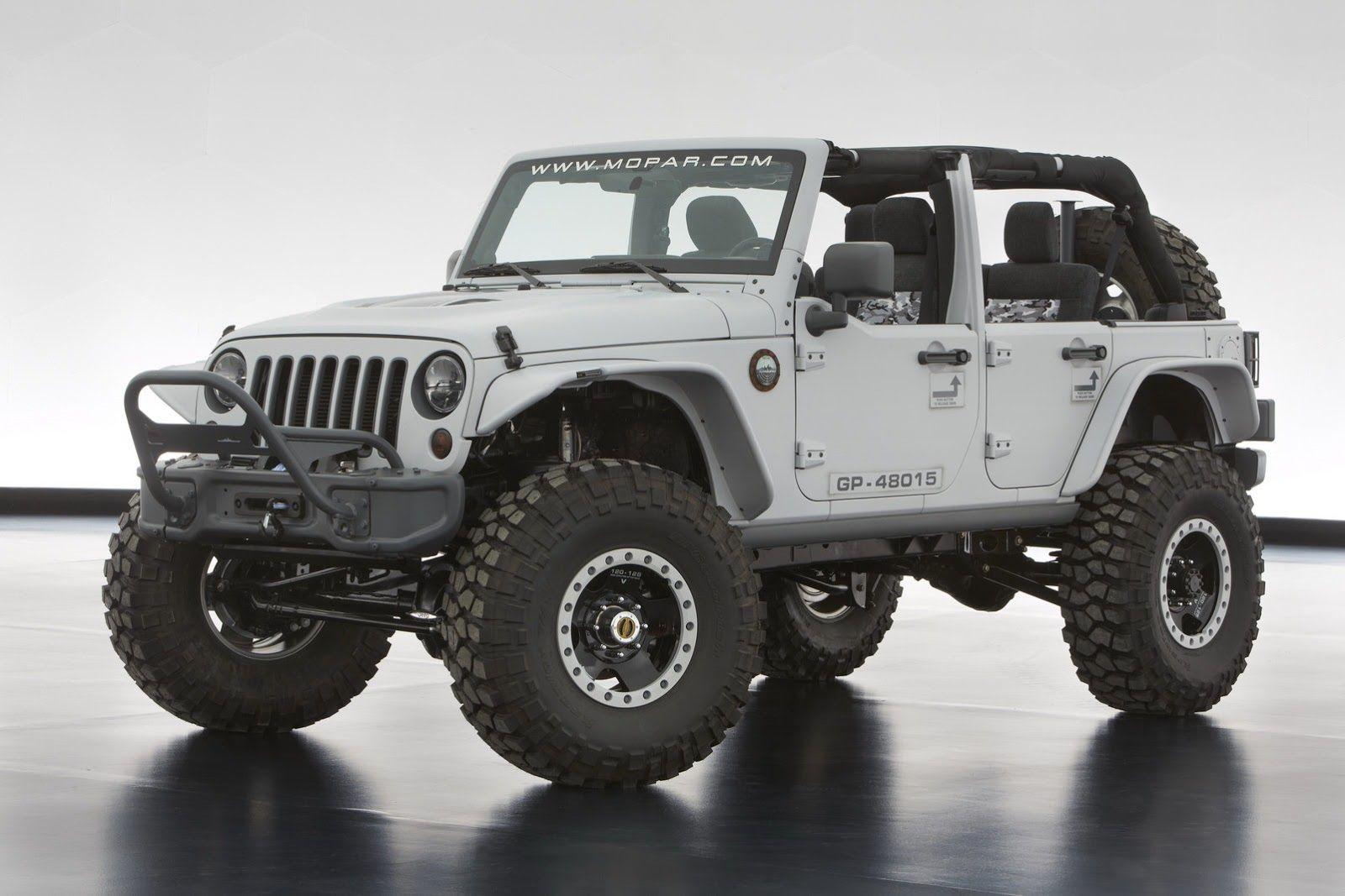 jeep rubicon 2014 4 door. jeep wrangler mopar recon concept pinterest jeeps and cars rubicon 2014 4 door