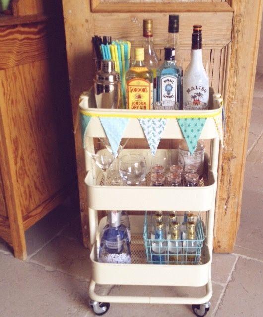 My Own Raskog Ikea Bar Cart