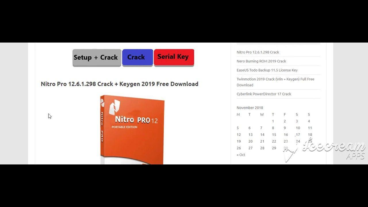 download keygen nitro pro 9 32 bit
