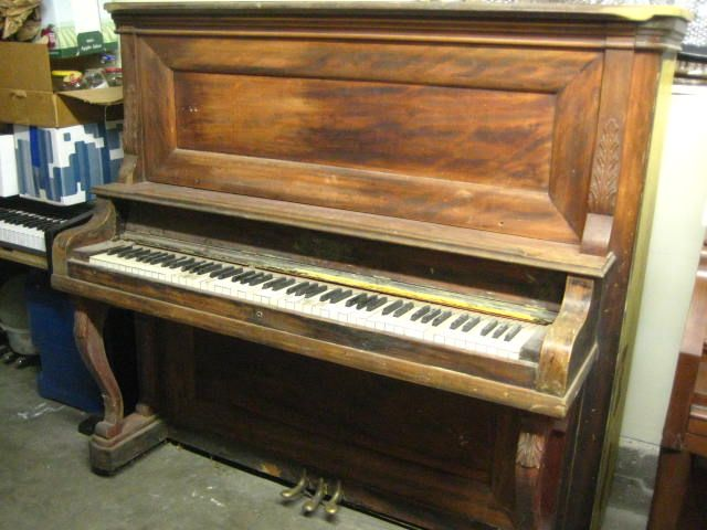 1912 Kohler Campbell Upright Piano Learned To Play At 8yrs Old