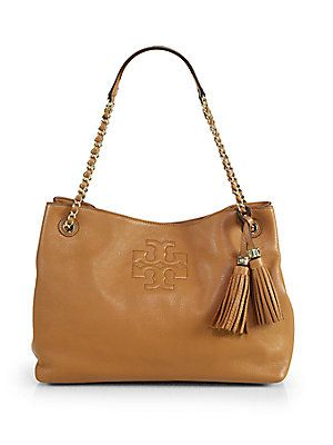6aaef29f0700 Tory Burch Thea Chain Shoulder Slouchy Tote
