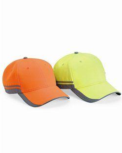 Outdoor Cap- Reflective Safety Cap - SAF201
