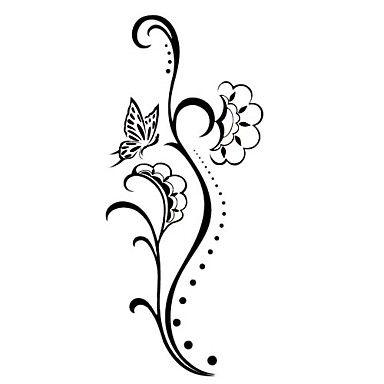 Gambar Bunga Mawar Yang Simple Bunga Tato Bunga Cara Menggambar