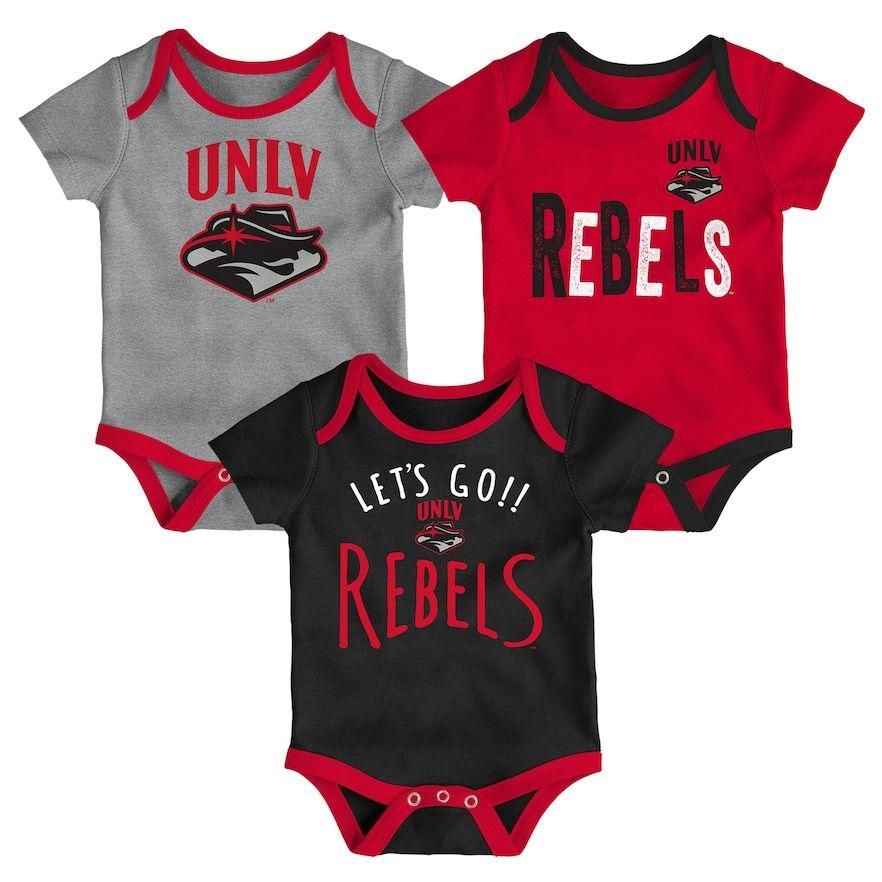 83f24cb8c Baby Unlv Rebels Little Tailgater Bodysuit Set, Infant Unisex, Size: 12  Months, Red