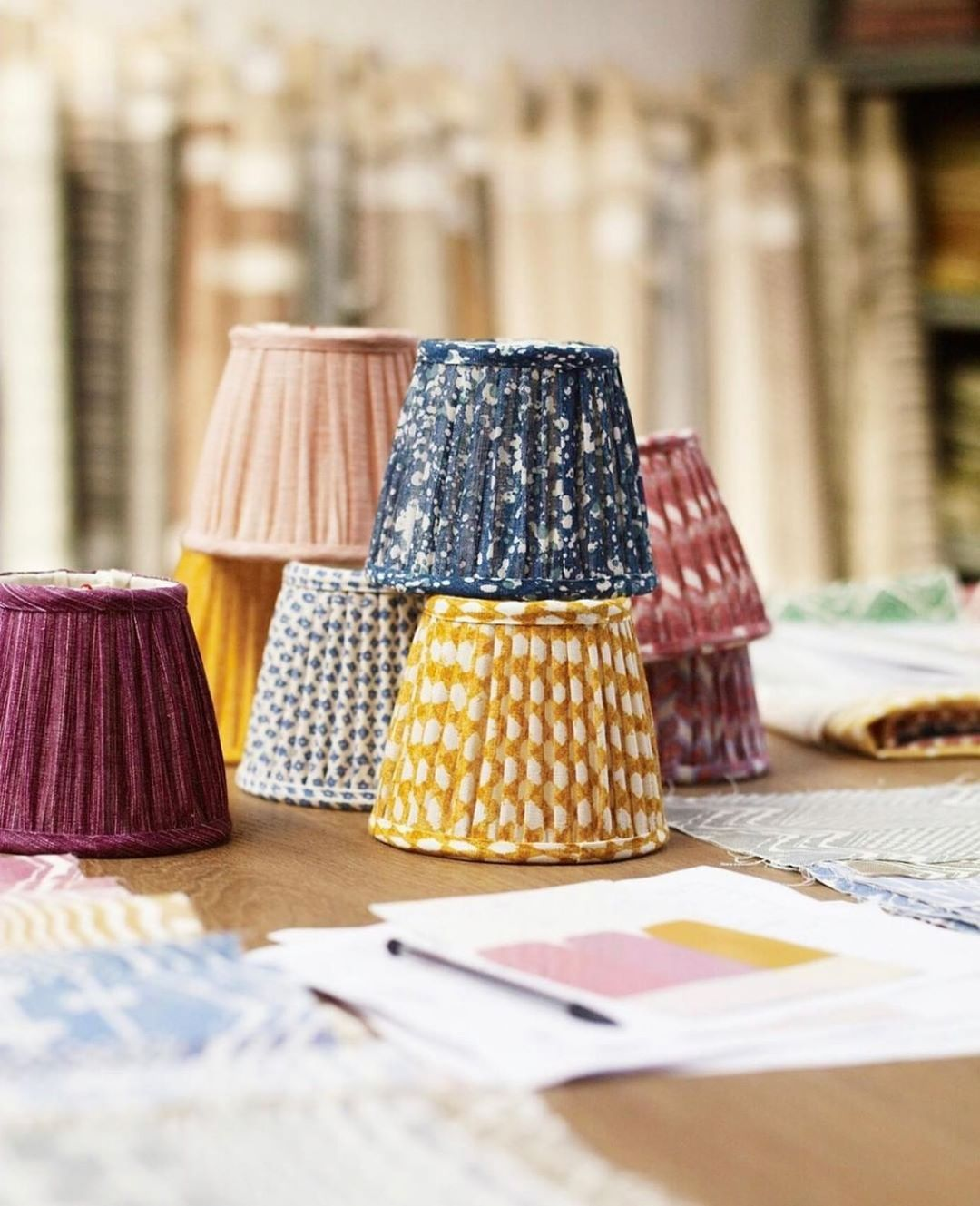 Hollywoodathome On Instagram A Good Lampshade Can Make A Room Order Fermoie Lampshades Thru Us Many Sizes And Fabrics To Cho Lampshades Making Room Design