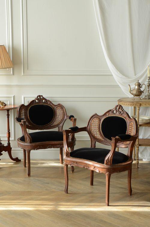 antique chair belgium furniture interior home decor room decoration