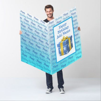 Huge Birthday Card Blue For Him Zazzle Com Birthday Cards Birthday Cards For Boyfriend Birthday Cards For Him