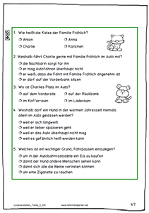 neue lesetexte f252r die 1 bis 6 klasse deutsch