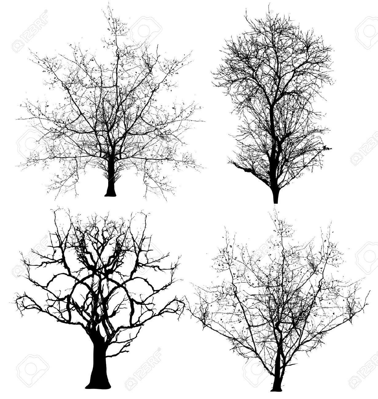 Tatuajes De Arboles Secos Cerca Con Google Vector Trees Tree Silhouette Dead Tree Tattoo