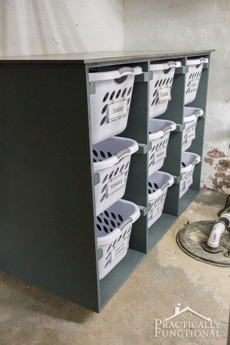 Utilisez Cette Commode A Linge Bricolage Simple Pour Decorer Votre Salle De Lavage Dekoration Diy Home Decor Waschekorb Kommode Diy Waschekorb Diy Waschkuche