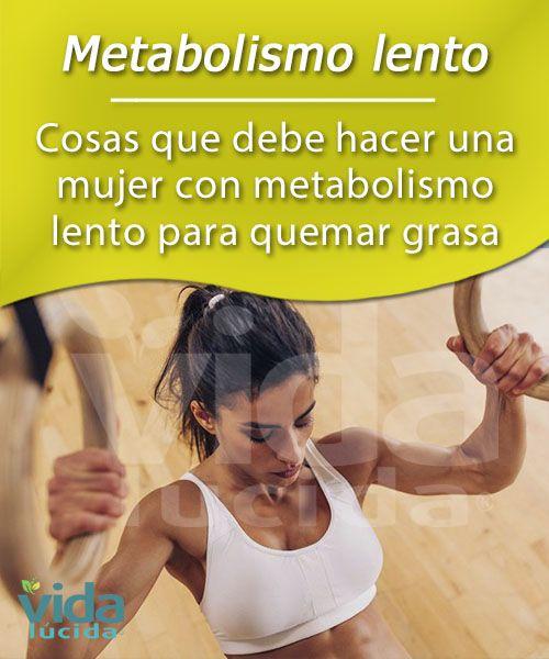 que comer para el metabolismo lento