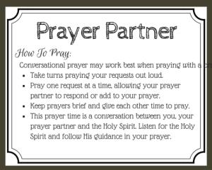 5 Benefits of Praying with a Prayer Partner