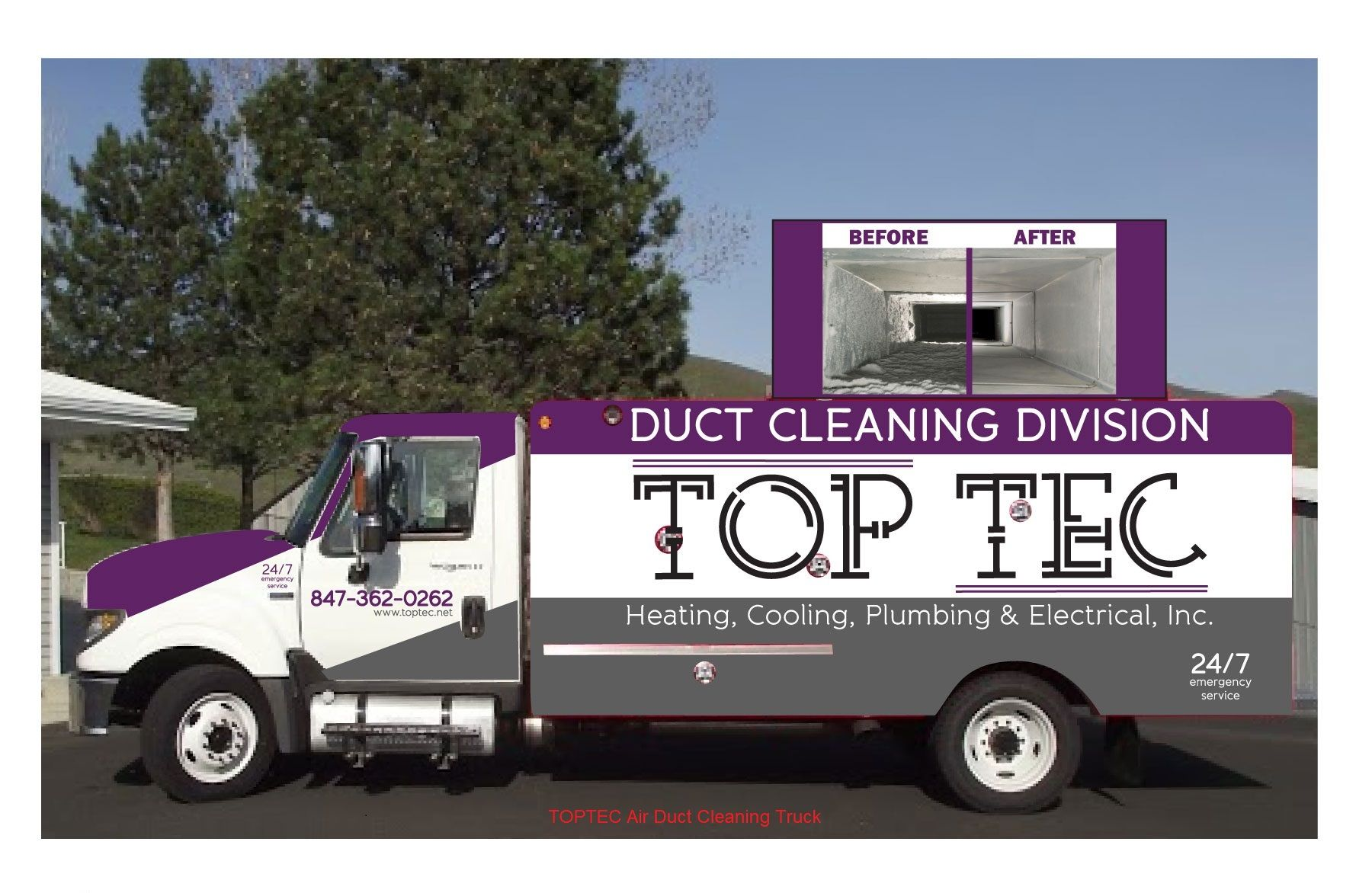 Toptec Offers A Comprehensive Air Duct And Vent Cleaning And