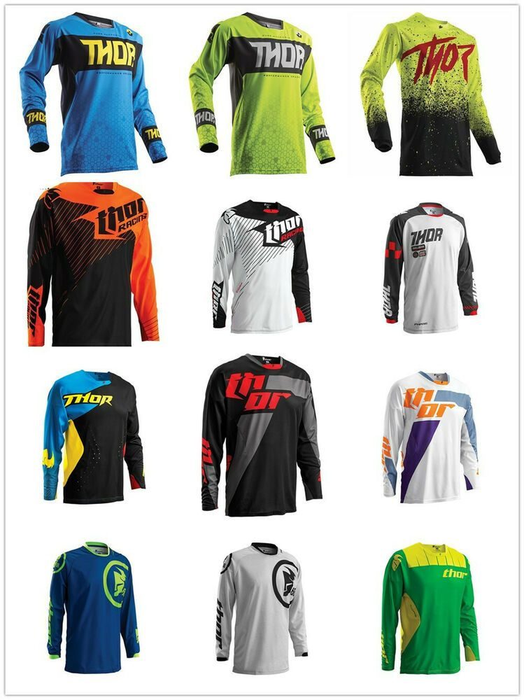 Downhill motocross racing jersey motorcycle moto long sleeve cycling offroad