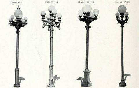 Lamposts La Street Light Design Street Light Urban Lighting