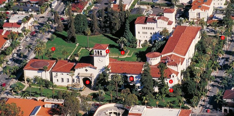 The View From The Tower Is A Must Visit Santa Barbara Courthouse Santa Barbara Attractions Holiday Getaways