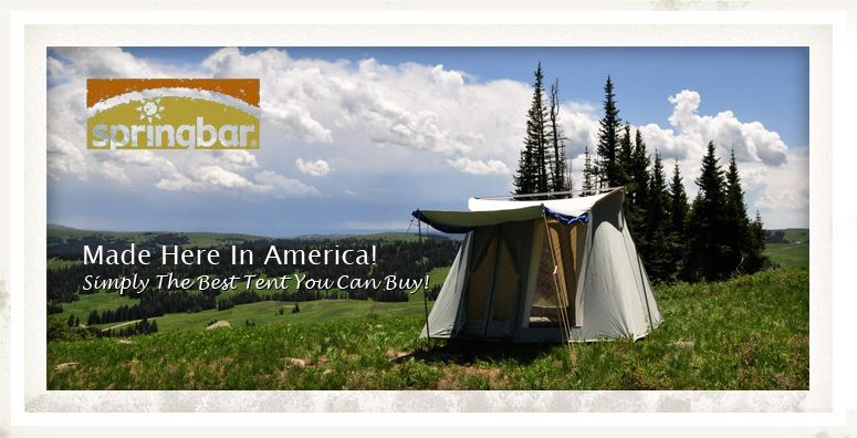 Springbar Tents Official Website - Best Tent Made In America