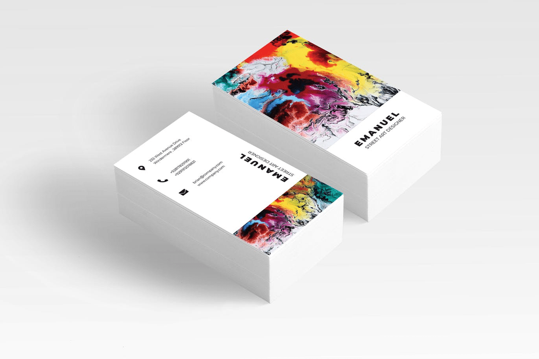 Business cards is the face of your brand's presentation