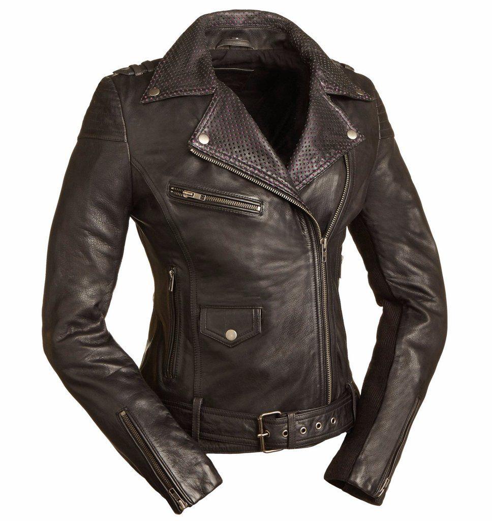 Iris Lightweight Aniline Jacket Leather jacket