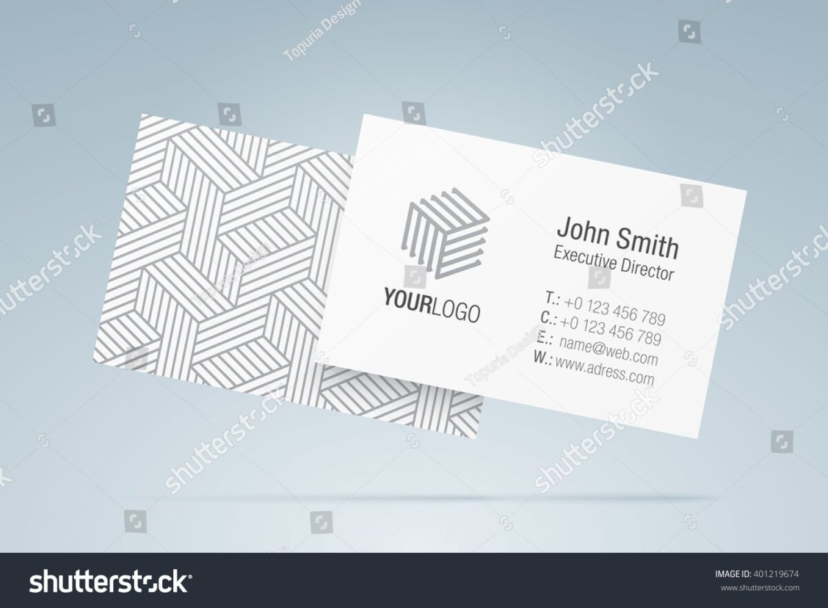 Vector Business Card Template Elegant Business Backgrounds Intended For Gen Business Cards Vector Templates Vector Business Card Free Business Card Templates
